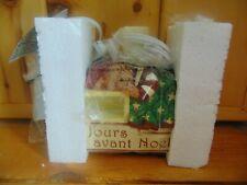 Avon Christmas Countdown with Lamp and Sleeping Teddy Bear NIB 2008