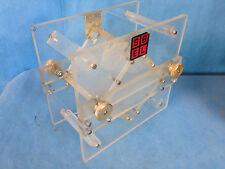 "Concrete Soils Lab Acrylic Testing Chamber 5"" x 5"" x 5.5"" Cube"