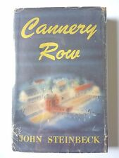 CANNERY ROW by JOHN STEINBECK 1945 FIRST EDITION *FIRST PRINTING/STATE* HC/DJ VG