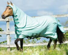 Rambo Pony Sweet Itch Hoody Unisex Horse Rug Fly - MINT All Sizes 5ft3