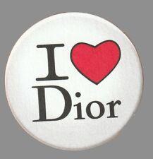 Carte Publicitaire - advertising card  - I Love Dior de Christian Dior