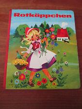 (E494)ALTES PAPP-KINDERBUCH ROTKÄPPCHEN BRÜDER GRIMM/GOTTSCHLICH PESTALOZZI 1978