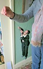 Antique? Vintage Puppet Flute Player Music in Tails Musical Instrument Flautist