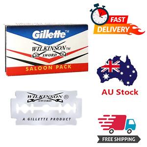 Safety Razor Blades - Gillette Wilkinson Sword Saloon Pack - Double Edged Blades