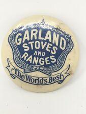 Antique Garland Stoves & Ranges Pocket Mirror Advertising Parisian Novelty