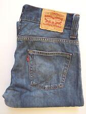 Levis 506 Jeans Mens Standard Fit Straight w32 l32 Mid Blue levj 235 #