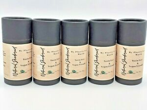 Unisex Eco Friendly Natural Deodorant Stick, Vegan, Plastic & Aluminium Free 75g