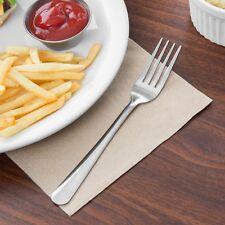 (36 FORKS) ECONOMY DINNER FORK STAINLESS WINDSOR PATTERN, NSF, SHIPS ECONOMY