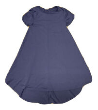 LuLaRoe Carly Dress Solid Purple Size XXS Used