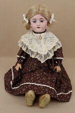 "24"" Antique Bisque Head Composition German Heinrich Handwerck Simon Halbig Doll"