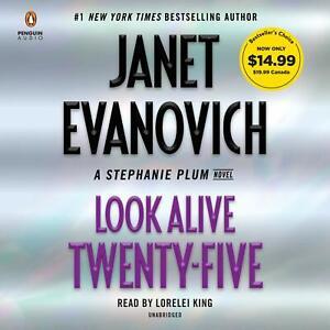Evanovich LOOK ALIVE TWENTY-FIVE Stephanie Plum Unabridged CD *NEW* FAST Ship !