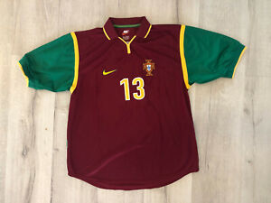 PORTUGAL NATIONAL TEAM MATCH WORN 1999 - Sérgio Conceiçao