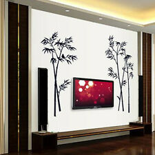 Black Bamboo Wall Sticker Decal Vinyl Home Mural Removable Art Decoration Gift