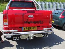 TOYOTA HILUX EXHAUST SYSTEM STAINLESS STEEL