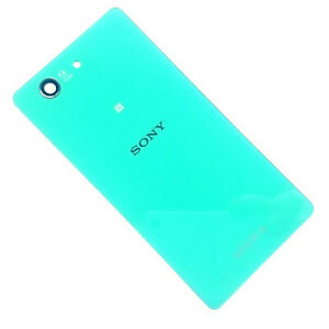 100% Genuine Sony Xperia Z3 Compact rear battery cover+camera glass panel D5803