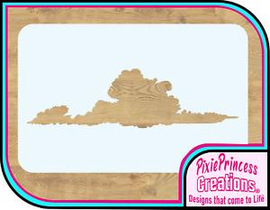 Cloud Sky A Mylar Stencil Airbrush Spray Paint Wall Crafts Rustic Art Vintage