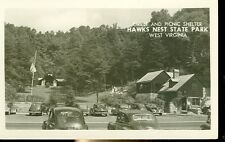 HAWKS NEST STATE PARK, WEST VIRGINIA-GRILLE & PICNIC SHELTER-RPPC-(RP#1-1035)