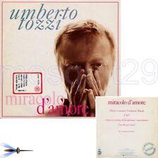 """UMBERTO TOZZI """"MIRACOLO D'AMORE"""" RARO CDsingolo PROMO"""