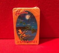 Hawaii Playing Cards Souvenir Map Collectible State Flower Aloha Deck Islands