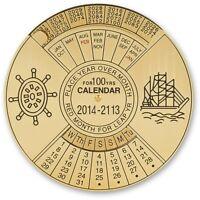 CraftPro Kits 100 Year Ready Reckoner Calendars AP202155