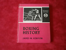 Boxing History by James W Kenyon dated 1961 free postage
