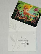 NEW DISNEY TINKERBELL~8-THANK YOU NOTES PARTY SUPPLIES