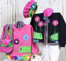 New Pattern CATTERPILLAR Sweatshirt Hat and Purse  Make AnY Size
