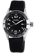 Haurex Italy Men's 3A500UNN Factor Stainless Steel Rotating Bezel Luminous Date