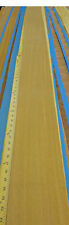"Brazilian Teak Freijo wood veneer 6"" x 111"" raw no backing 1/42"" thickness"