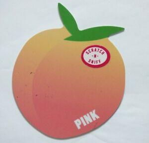 PINK Victoria's Secret Gift Card - Die Cut Peach - No Value
