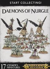 Start Collecting Daemons of Nurgle Warhammer 40.000 Games Workshop Age of Sigmar