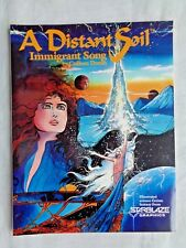 A Distant Soil Immigrant Song Vol. 1  August 1987 Starblaze First Print NM (9.4)