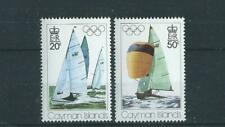 Cayman Islands SG410-411 1976 Olympic Games Montreal Unhinged Mint
