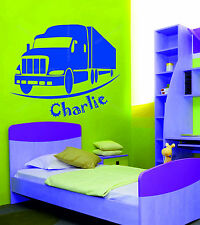 Vehicles Personalised Wall Decals & Stickers
