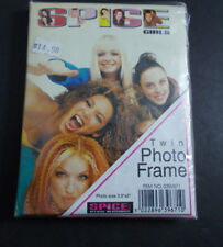 *  Spice Girls-dresser twin HOTO Frame  - holds 2 photos mint in package vintage