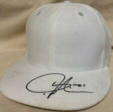 LaDainian Tomlinson Signed Hat - NFL Football White Auto Cap HOF