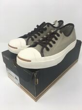 CONVERSE JACK PURCELL OXFORDS CANVAS SHOES SIZE MENS 6.5 Old Silver