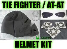 Tie Fighter / AT-AT Complete Upgrade helmet KIT STAR WARS prop