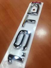 LOGO AUDI 1.9 TDI A3 A4 A6 S6 A8 S8 A5 EMBLEME SIGLE ORIGINAL CONSTRUCTEUR