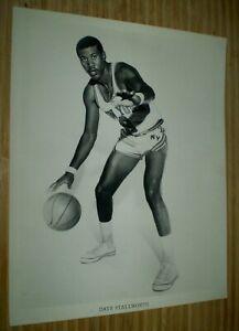 "Dave Stallworth Original New York Knicks Vintage 8 x10"" Photo"