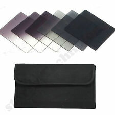 6pcs Graduated Neutral Density ND Color filter set for Cokin P Series Camera new