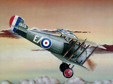 "Model Airplane Plans (RC): Sopwith Snipe 1/16 Scale 62"" for .40-.60 Engine"