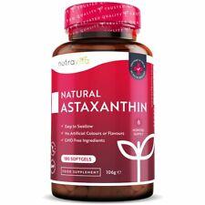 Natural Astaxanthin 18mg - 180 Softgels - 6 Months Supply - Antioxidant & Immuni