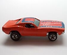 Vintage Hot Wheels Car DIXIE CHALLENGER Dodge With Battle Flag On Roof 426 Hemi