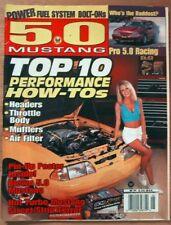 5.0 MUSTANG 1997 MAY - SUPER PERFORMANCE ENHANCERS