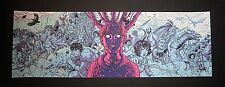 Game of Thrones Screen Print Poster Song of Ice and Fire Ice Variant x/150