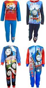 Kids Thomas The Tank Engine Boys Pjs Pyjamas Sleepwear Ages 1 to 5 Years