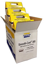 BULK LOT!  Smooth-On SMOOTH CAST 300 - 1 Case 4 Kits - White Liquid Plastic NEW!
