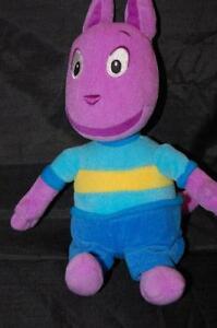 "Backyardigns Ty Beanie Bean Bag Austin 9"" Plush Stuffed Doll Lovey Toy"