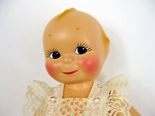 Vintage Kewpie 1940's Cameo Rose O'Neill Doll Composition 13""